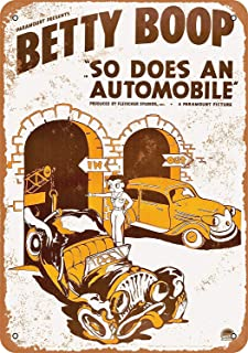 betty boop so does an automobile