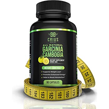 Garcinia Cambogia Extract Supplement 2100MG - 95% HCA Fat Burners for Men and Women - All-Natural Appetite Suppressant & Carb Blocker for Weight Loss & Energy Boost - 90 Caps