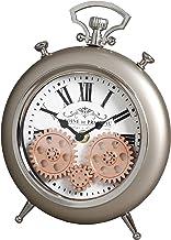 Metal Analog Clock - Desk & Shelf Clocks -NHq025