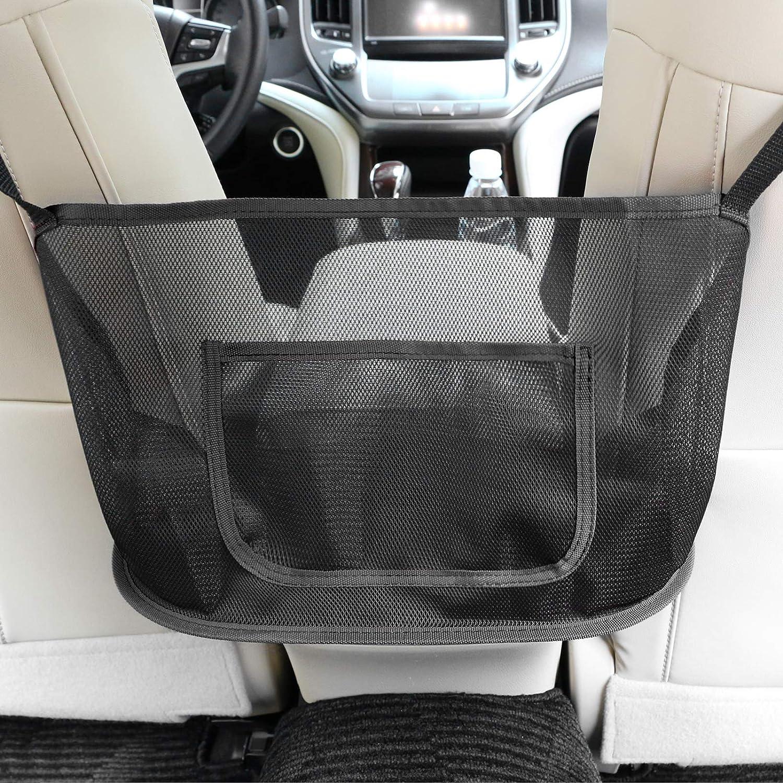 Car Max Genuine 74% OFF Net Pocket Handbag Holder Seat Large Back Cap Mesh Organizer