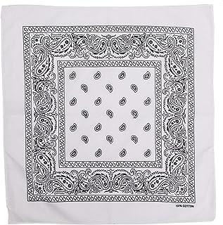 Zandana pañuelo algodón negro con motivo 1