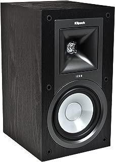 Klipsch KB-15 Icon 5-1/4-Inch 2-Way Bookshelf Speakers (Black Ash, Set of 2)