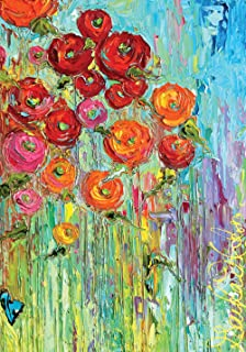 Toland Home Garden 109533 Fabulous Flowers Flag, House (28
