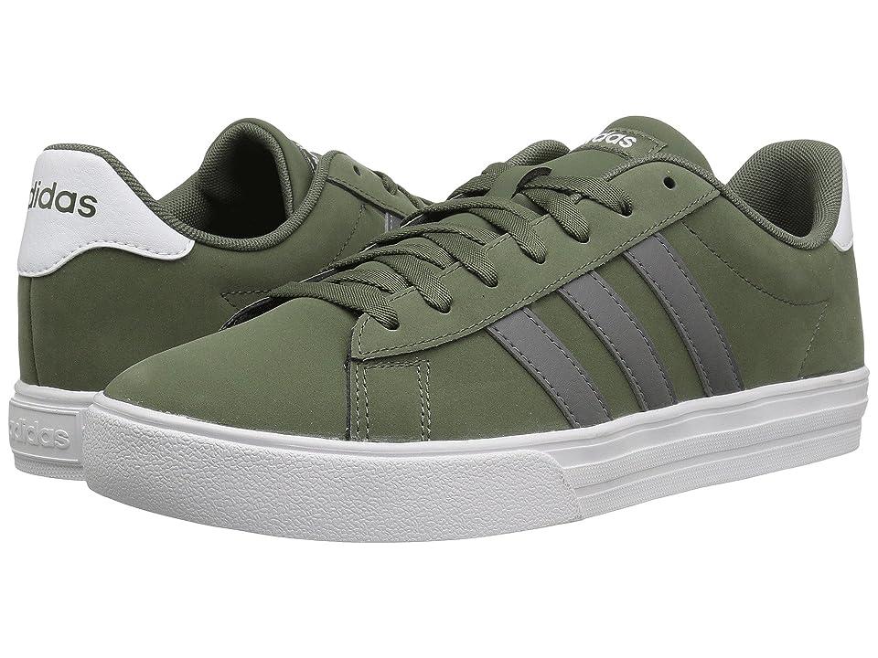 adidas Daily 2.0 (Base Green/Grey Four/White) Men