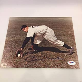 Billy Martin Signed Photo - 8x10 COA - PSA/DNA Certified - Autographed MLB Photos