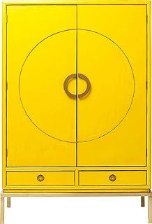 Kare Design Armoire Disk Jaune