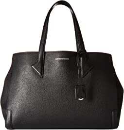 Emporio Armani - Tumbled Leather Tote