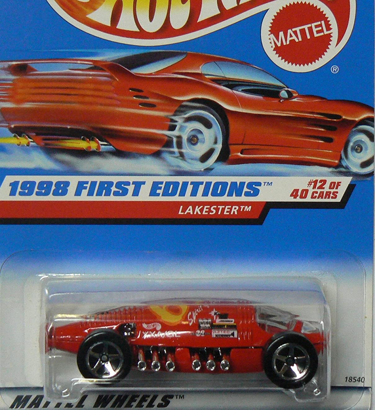 経歴鷹アナリストHOT WHEELS Lakester 647 1998 First Editions ON RED CARD