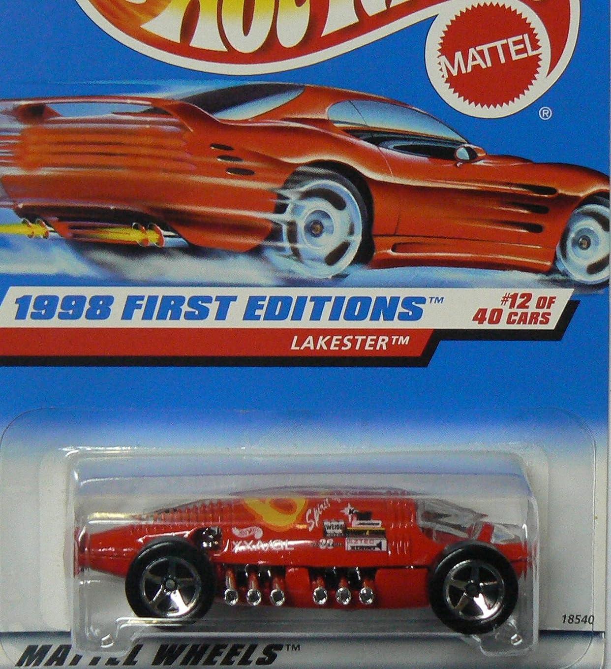 朝百万どうやってHOT WHEELS Lakester 647 1998 First Editions ON RED CARD