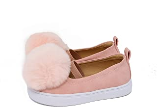 GUTE BOTE Shoes for Girls and Boys - Stylish Fashion Slip-on Flat Sneakers for Little Toddler Children (Toddler/Little Kids)