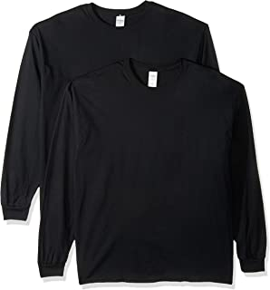Gildan Men's Heavy Cotton Long Sleeve T-Shirt, 2-Pack
