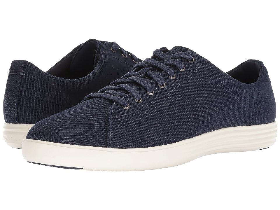 Cole Haan Grand Crosscourt Sneaker (Marine Blue Canvas) Men