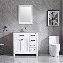 Amazon Com Bathroom Vanity 18 Inch Depth