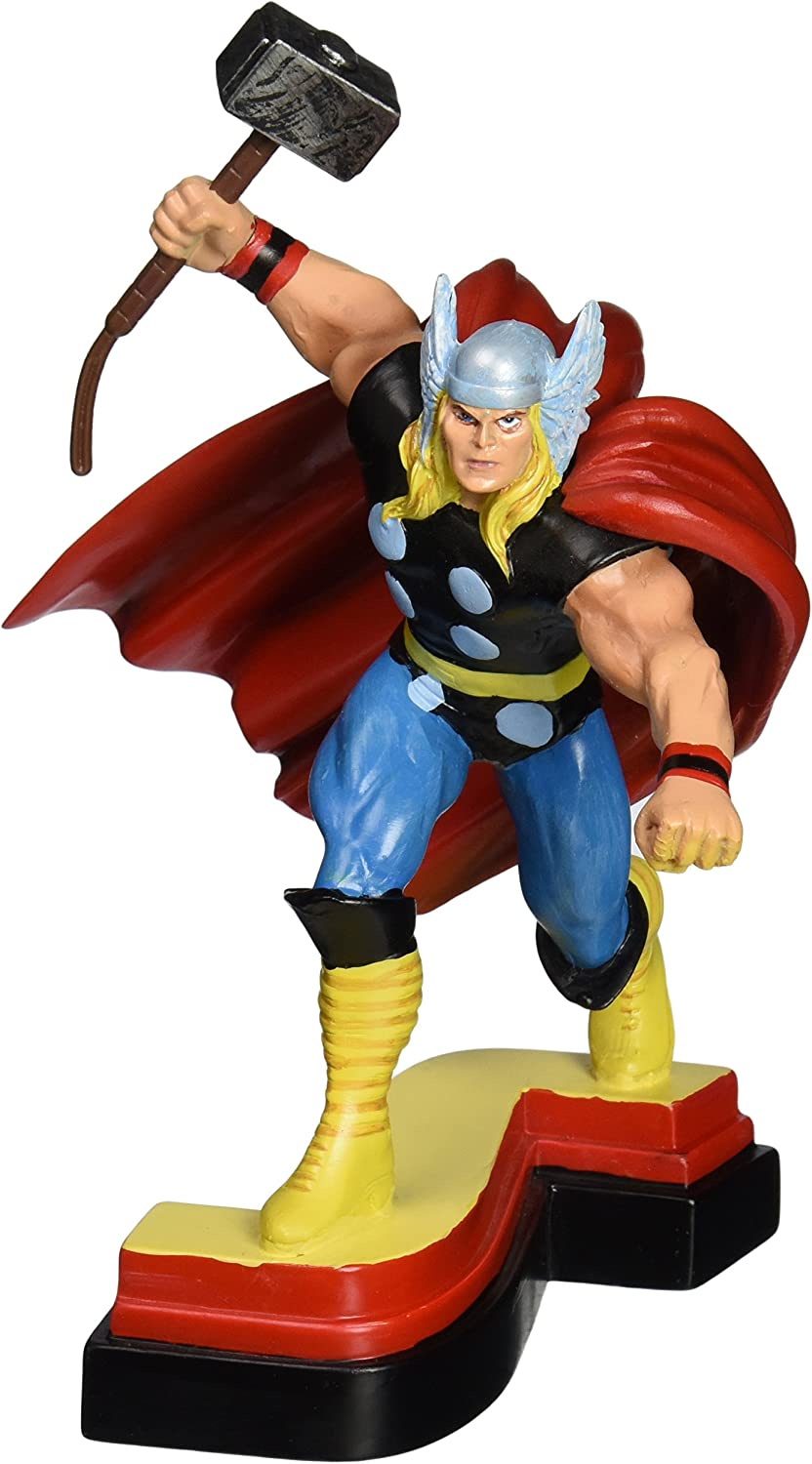 Avengers Resin Figures  Thor on Letter Base  S