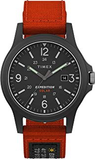 Timex Men's Expedition Acadia Solar 40mm Fabric Watch TW4B19000