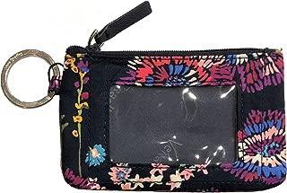 Women's Zip ID Case (Midnight Wildflowers)