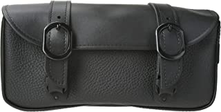Dowco Willie & Max 59590-00 Black Jack Series: Synthetic Leather Motorcycle Tool Pouch, Black, Universal Fit