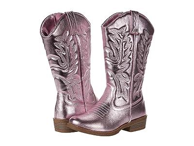 Steve Madden Kids Deputy (Little Kid/Big Kid) (Pink Metallic) Girls Shoes