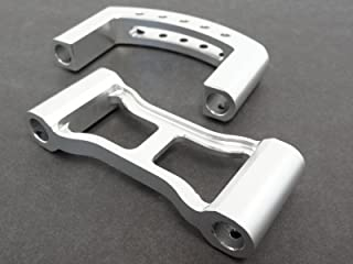 King Motor Silver Aluminum Roll Cage Quick Disconnects Fits HPI Baja 5B 5T SS Rovan