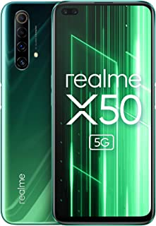 "realme X50 5G Smartphone, Display 6.57"" LCD FHD+ a 120 Hz, Processore Octa-Core, 6 GB + 128 GB, Dual Selfie Camera da 16 M..."