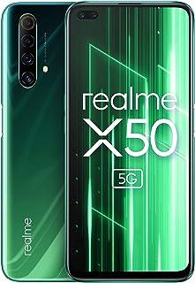 OPPO Realme X50 5G (6GB+128GB) グローバル版 / 6.57 inch / 120Hz / Dual SIM / 48+8+2+2MP Quad Camera/Google play/日本語対応/SIMフリー (Ju...