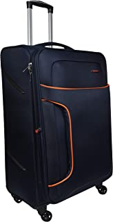 Murano Polyester 28 inches Navy Blue Hardsided Cabin Luggage (1070050_J)