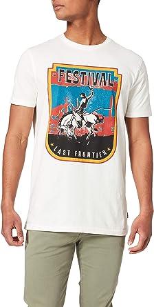 Springfield Camiseta Regular Cowboy Hombre