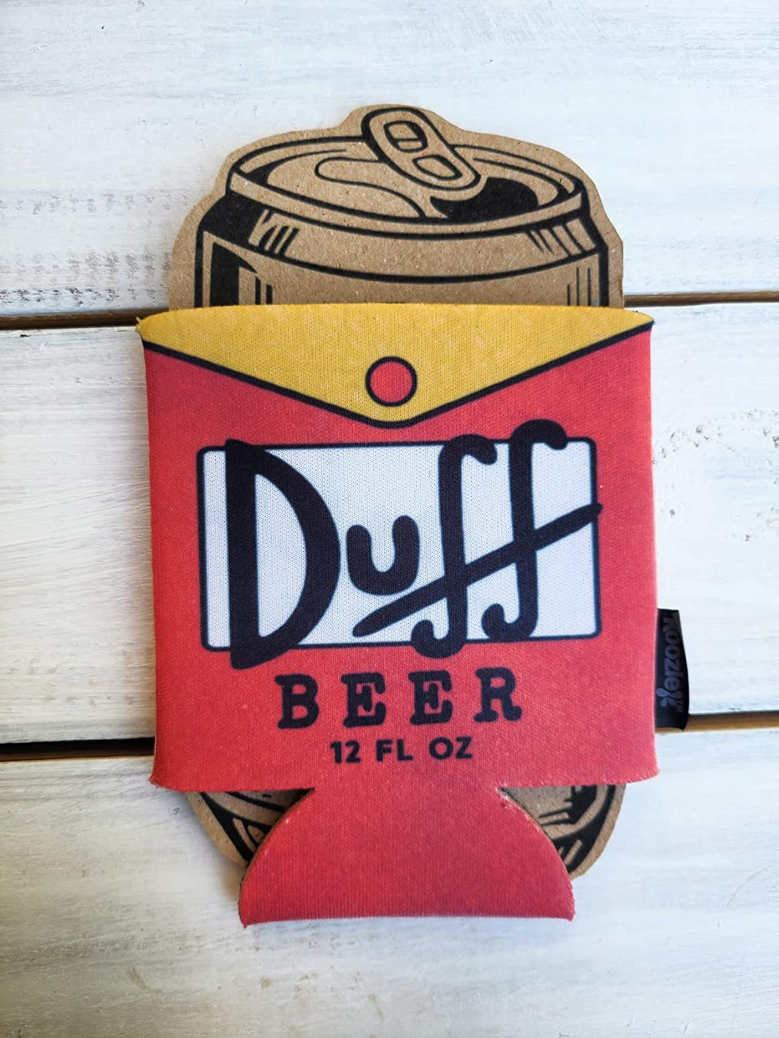 Duff Beer Homer Simpson Hilarious Max 68% OFF Topics on TV Cooler Coozie Par Football Can