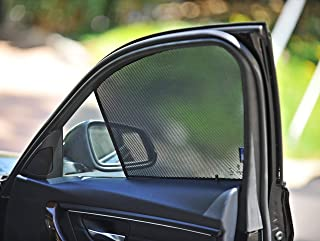 QuikSnap sunshades - Custom Side Window sunshades (Set of 4) (Compatible Subaru Forester 2014-2018)