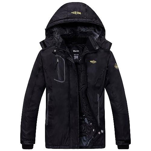9bd2042858 Wantdo Women s Mountain Waterproof Ski Jacket Windproof Rain Jacket