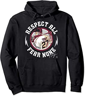 Mike Trout Respect All Fear None Hoodie - Apparel