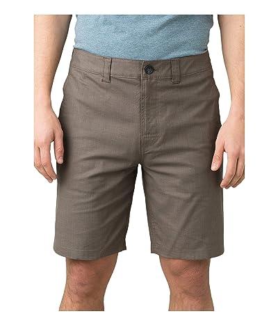 Prana Marlon Chino Shorts (Mud) Men