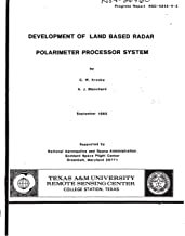 Development of land based radar polarimeter processor system