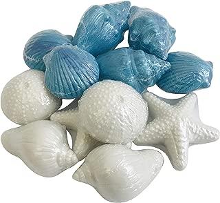 Nautical Sea Soap Set One Dozen Assorted Novelty Beach Shapes, Pack of 12