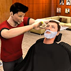 Interesting level of barber shop simulator Multiple hair styles tools like scissor, comb, beard trimmers, hairdryer, electric razor Real virtual barber & creativity of hair salon games. Best ultra HD Graphics with beautiful barber shop Professional p...