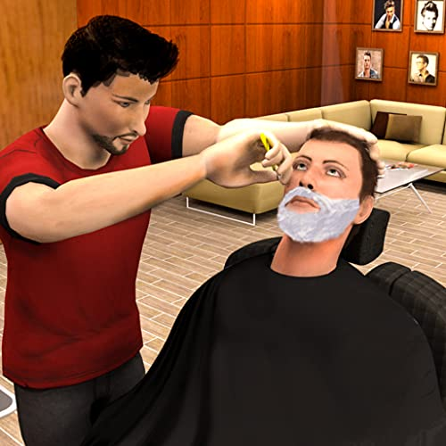Virtual Barber Shop Hair Salon Beard Shave Games