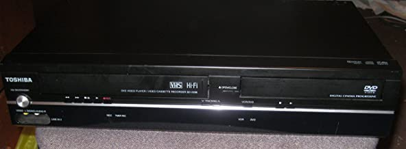 Toshiba SD-V296-K-TU Tunerless DVD/VCR Deck Player Recorder COMBO. VHS & CD Player. AV Cable Included. No Remote