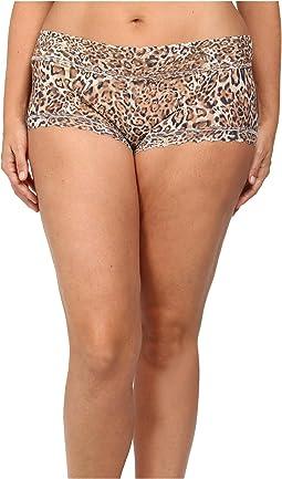 Plus Size Leopard Nouveau Boyshort