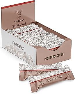 Mr H Bars - Premium Protein Bar - High Protein (Dark Chocolate, 12 x 56g)