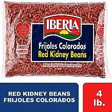 Iberia Red Kidney Beans, 4 lb, Bulk Red Kidney Beans, Long Shelf Life Kidney Beans with..