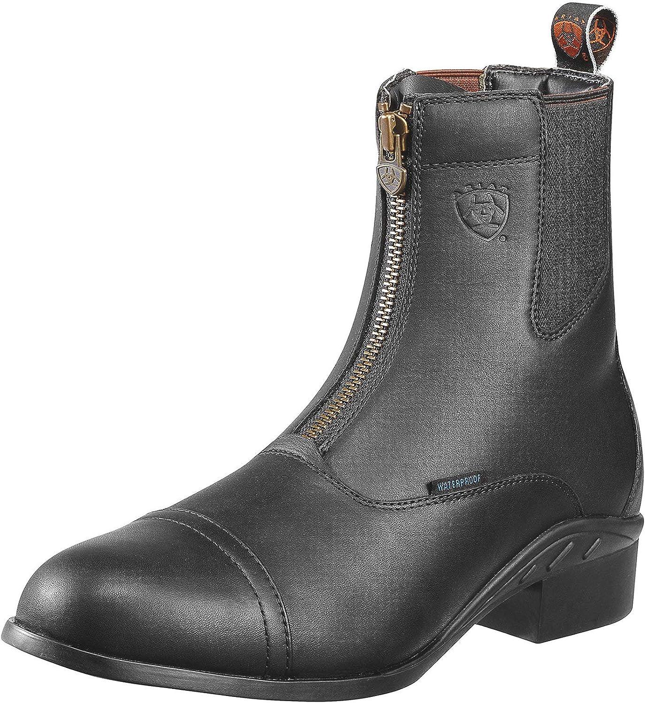 ARIAT Men's Heritage Iii Zip Waterproof Paddock Boot