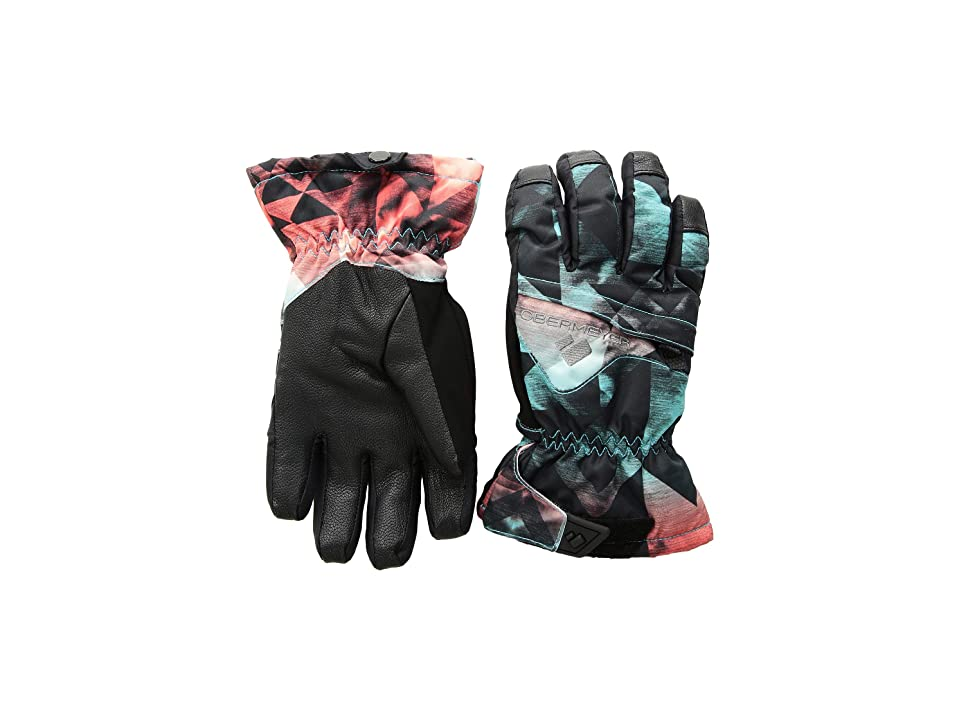 Obermeyer Kids Lava Gloves (Little Kids/Big Kids) (Wild West) Extreme Cold Weather Gloves