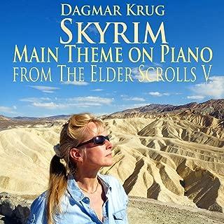 Skyrim - Main Theme on Piano - from The Elder Scrolls V