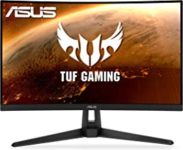 "$289 » ASUS TUF Gaming VG27WQ1B 27"" Curved Monitor, 1440P WQHD (2560 x 1440), 165Hz (Supports 144Hz), 1ms, Adaptive-sync/FreeSync..."