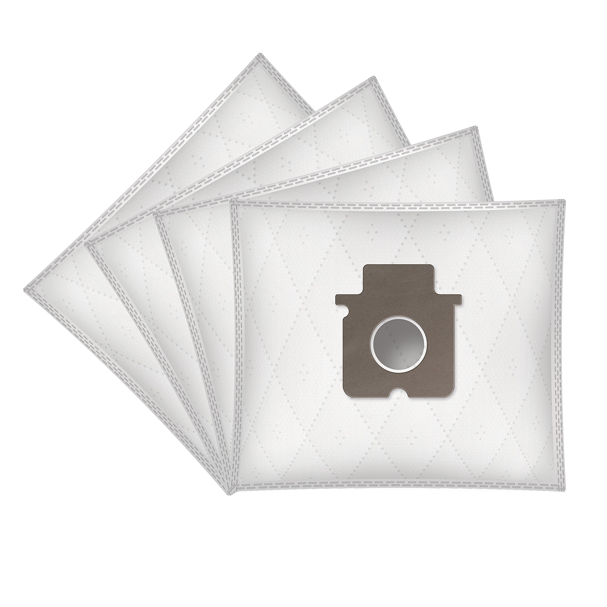WESSPER® Bolsas de aspiradora para Panasonic MC-E 785 (4 piezas ...