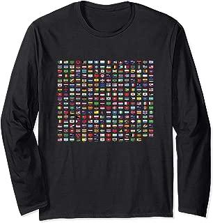 World Country Flag Diversity Long Sleeve T-Shirt