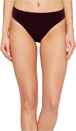 Laundry by Shelli Segal - Italian Velvet Bikini Bottom