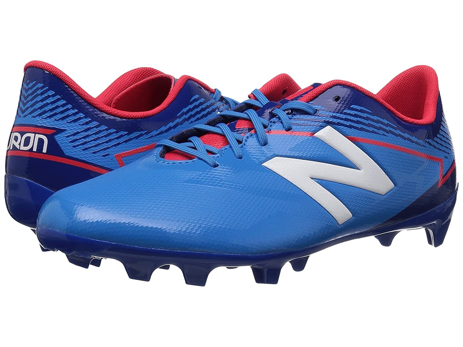 (ニューバランス) New Balance キッズランニングシューズ??スニーカー?靴 JSFDFv3 Soccer (Little Kid/Big Kid) Bolt/Team Royal 1 Little Kid (20cm) W