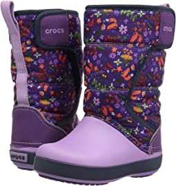 Crocs Kids - Lodge Point Graphic Snow Boot (Toddler/Little Kid)