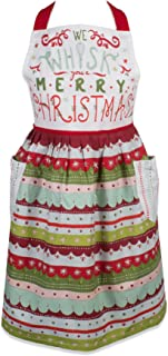 "DII CAMZ10652 Cotton Women Apron Dress, 20"" x 29"", Whisk You A Merry Christmas"